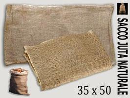Sacco in Juta naturale 35x50