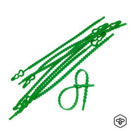 Fascetta-Legaccio verde per agricoltura 50 pezzi