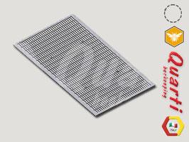Escludi Regina Plastica 492 x 270 Quarti per arnia 6 favi