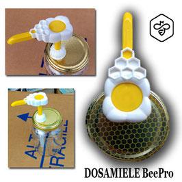 Dosamiele BeePro (favo bianco) su capsula da 500 e 1000 gr.
