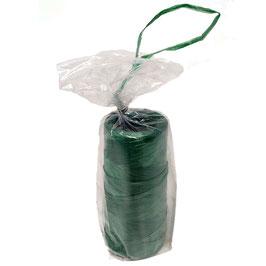 Rafia sintetica verde in bobine da 100 grammi