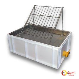 Banco per disopercolare in plastica 60x40x235 QUARTI