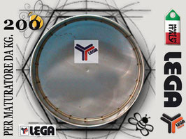 Filtro in acciaio inox lega per maturatore 200 kg.