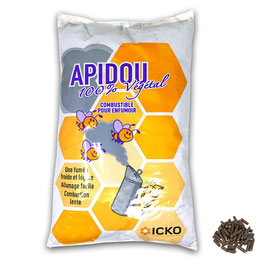 APIDOU Natural  combustibile vegetale per affumicatore