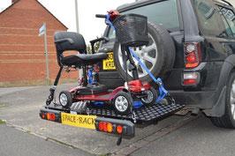 Transportplattform für Anhängerkupplung