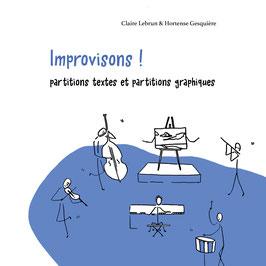 Improvisons ! Hortense Gesquière et Claire Lebrun