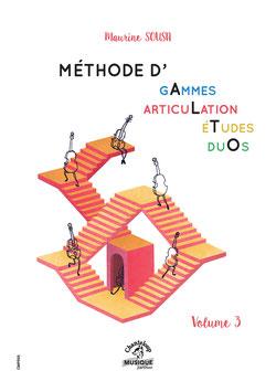 METHODE D'ALTO - MAURINE SOUSA, VOLUME III
