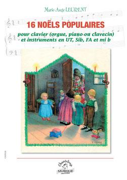 Marie-Ange Leurent : 16 Noëls pour instrument et clavier