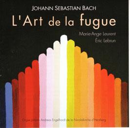 Bach, L'Art de la fugue, 2 CD. Orgue historique Engelhardt d'Herzberg (Basse-Saxe)
