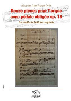 Alexandre Pierre François Boëly : Douze pièces pour l'orgue op. 18 (partition en téléchargement)