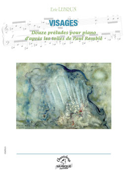 Eric Lebrun : Visages pour piano