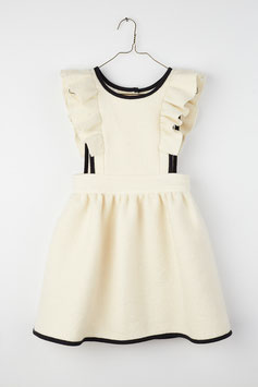 FRILL ANNA DRESS WINTER WHITE