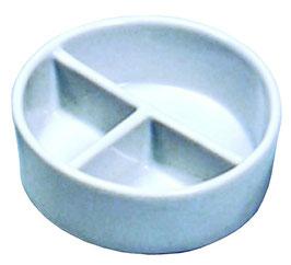 陶器丸筆洗3穴