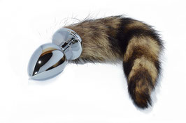 Anal-Plug mit Fuchsschwanz