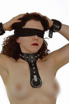 Halsband Leder Dekolleté