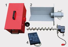 Automatische Ascheaustragung für P30 und P40