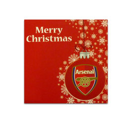 Arsenal Christmas Card