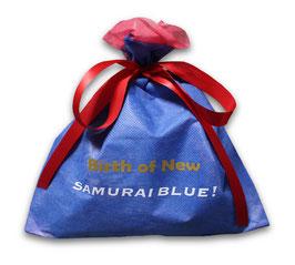 サムライブルーになるために生まれてきたぜ! 不織布バッグ