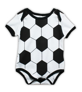 football pattern bodysuit