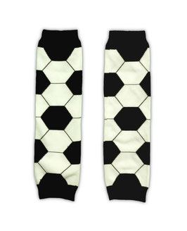 football pattern baby legwarmer