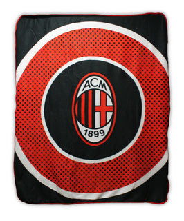 A.C. Milan Fleece Blanket
