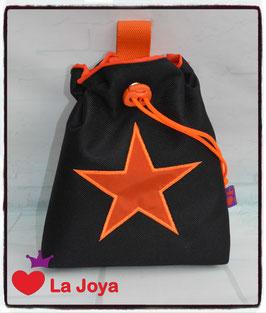 ★ FutterBeutel ★ Motiv Stern Orange ★
