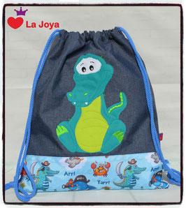 ★ KidsTurnBeutel ★ Krokodil ★