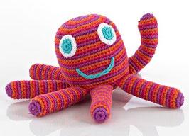 ★ Spieltierli ★ Stella ★ Octopus pink/rot ★