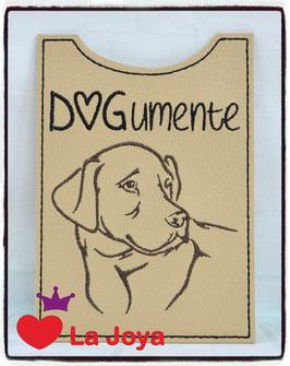 ★ Impfpasshülle ★ DOG ★ Labrador ★