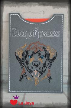 ★ Impfpasshülle ★ DOG ★ Leonberger ★