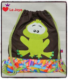 ★ KidsTurnBeutel ★ Frosch ★