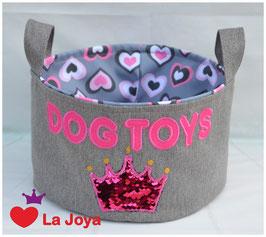 ★ Hundespielzeug-Aufbewahrung ★ Dog Toys Krone ★
