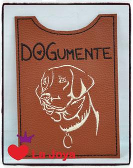 ★ Impfpasshülle ★ DOG ★ Labrador1 ★
