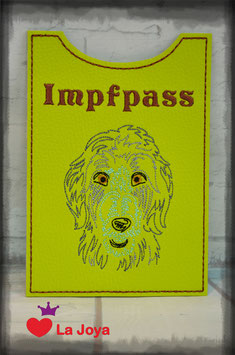 ★ Impfpasshülle ★ DOG ★ Irish Wolfhound ★