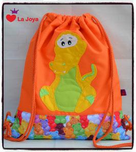 ★ KidsTurnBeutel ★ Krokodil 1 ★