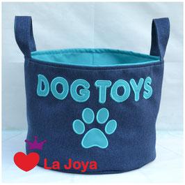 ★ Hundespielzeug-Aufbewahrung ★ Dog Toys türkis ★