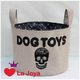 ★ Hundespielzeug-Aufbewahrung ★ Dog Toys Skull ★