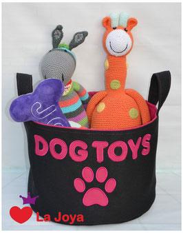 ★ Hundespielzeug-Aufbewahrung ★ Dog Toys pink ★