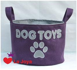 ★ Hundespielzeug-Aufbewahrung ★ Dog Toys grau ★