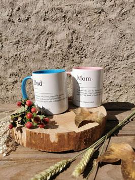 Mom/Dad Mug