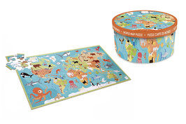 Puzzles XXL World 100 pieces