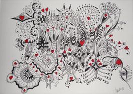 """Doodle """"L'Amour"""""""