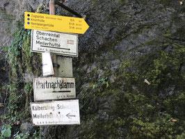 Zugspitze auf dem Weg der Erstbegeher