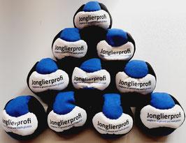 10er Set Footbag / Hackysack Jonglierprofi