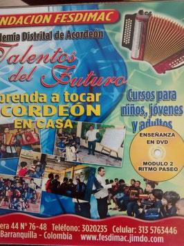 CURSOS BASICO DE ACORDEON VALLENATO EN D.V.D FULL HD MODULO-1-RITMO PASEO