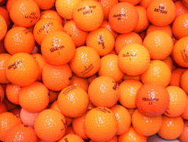 Orange Bälle (0,54 €/Ball, AAA Qualität !)*