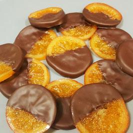 Rondelles d'oranges confites