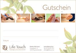 Gutschein Klassische Massage 30min