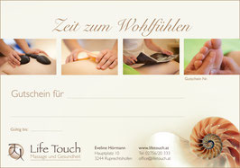 Gutschein Wellness - Massage 60min