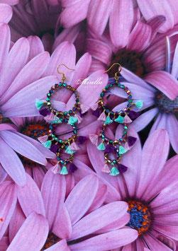 Mrs. Fantaghirò Purple Turquoise